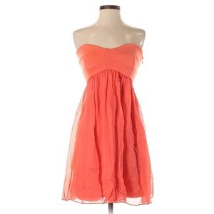 Diane von Furstenberg Coral Strapless Casual Dress